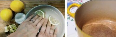 Как отмыть эмалированную кастрюлю от налета