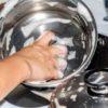 Как очистить пригоревшую кастрюлю из нержавейки внутри