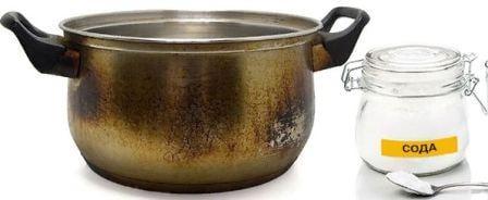 Как отчистить пригоревшее дно у кастрюли из нержавейки