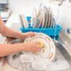 Как отмыть старые тарелки