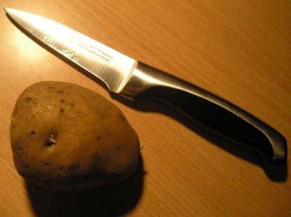 Как и чем почистить нож