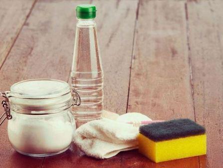 Очистить посуду от жира в домашних