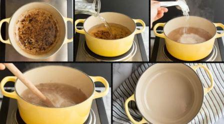 Средство мытья посуды жира