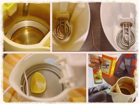 Как и чем почистить электрический чайник от накипи