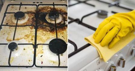 Как и чем почистить газовую плиту