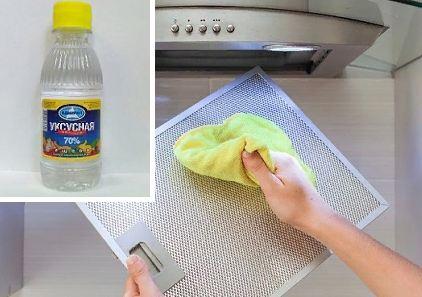 Как и чем отмыть кухонную вытяжку от жира и копоти