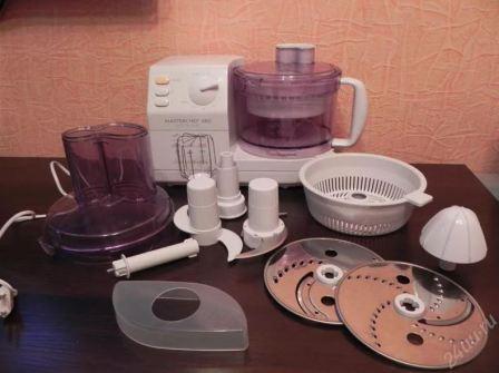 Как правильно и чем лучше отмыть кухонный комбайн