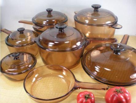 Как и чем отмыть до блеска посуду из огнеупорного стекла