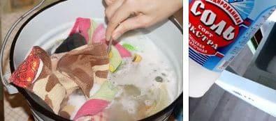 Чем отстирать кухонные прихватки от жира и пятен