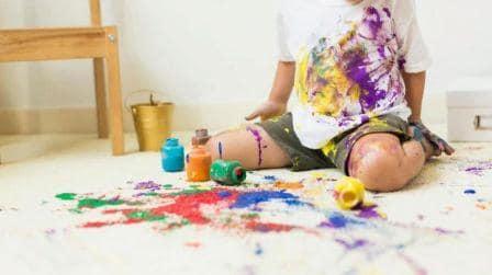 Как и чем вывести пятно от акварельной краски