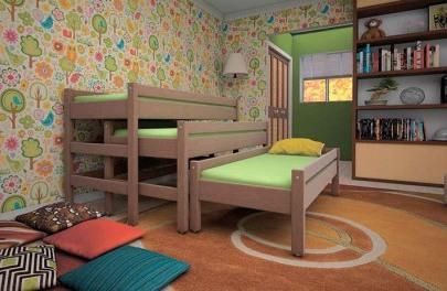 Как обустроить комнату для троих детей