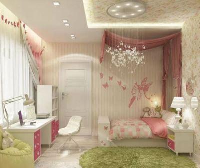 Необычные идеи интерьера детской комнаты для девочки