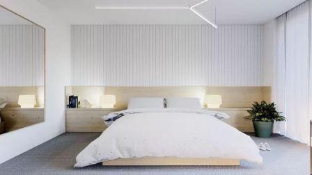 Особенности интерьера спальни в стиле минимализм