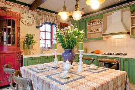 Советы по созданию дизайна кухни в стиле прованс