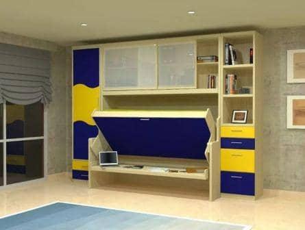 Как выбрать мебель трансформер для детской комнаты