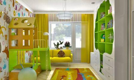 Обустройство детской комнаты, основные правила